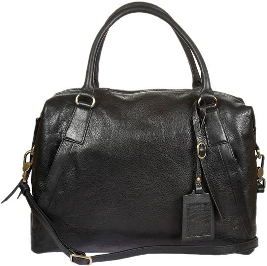 Кожаные сумки Gianni Conti 783799-black