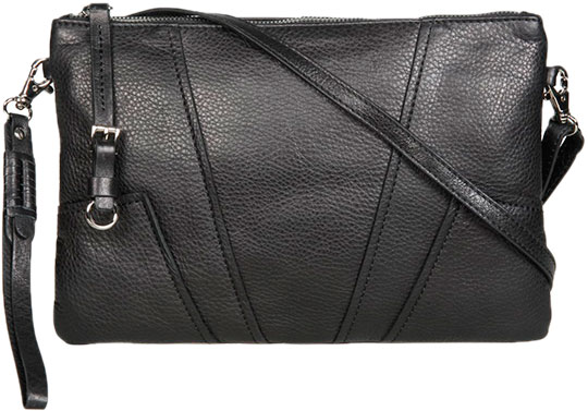 Кожаные сумки Gianni Conti 784667-black кожаные сумки gianni conti 1812282 black