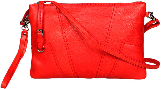 Кожаные сумки Gianni Conti 784667-coral