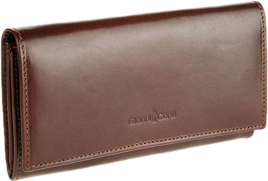 Кошельки бумажники и портмоне Gianni Conti 907003-brown