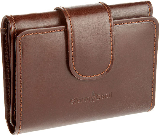 Кошельки бумажники и портмоне Gianni Conti 908000-brown кошельки mano портмоне для авиабилетов