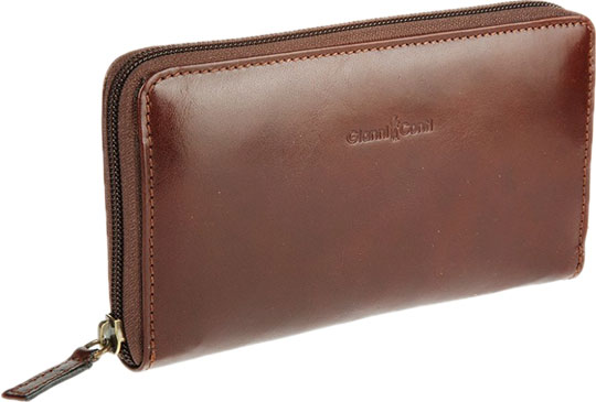 Кошельки бумажники и портмоне Gianni Conti 908106-brown обложка gianni conti 1757493 brown teal
