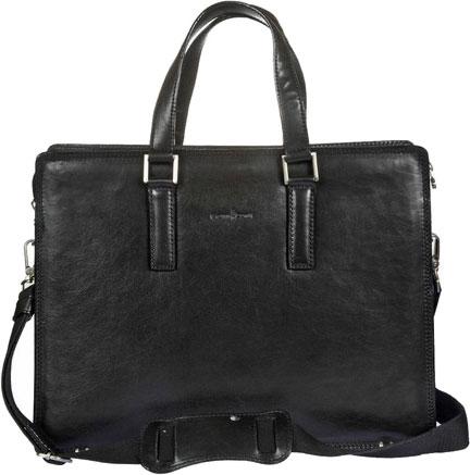 Кожаные сумки Gianni Conti 911248-black кожаные сумки gianni conti 1762371 black