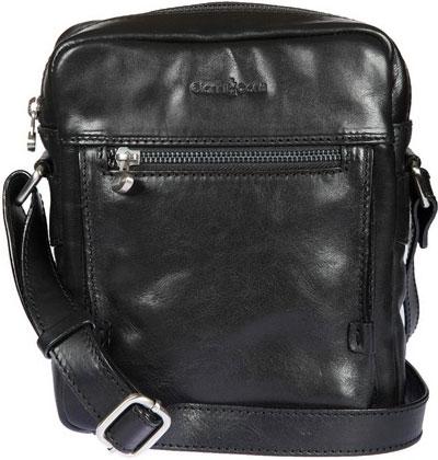 Кожаные сумки Gianni Conti 912255-black кожаные сумки gianni conti 2514325 coral