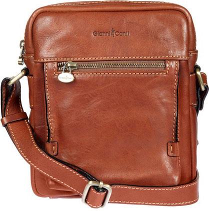 Кожаные сумки Gianni Conti 912255-tan кожаные сумки gianni conti 2514325 coral