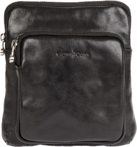 Кожаные сумки Gianni Conti 912302-black цена и фото