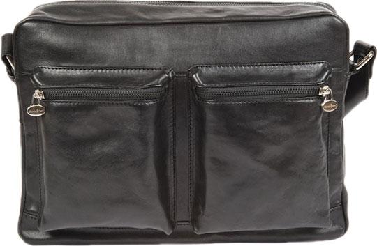 Кожаные сумки Gianni Conti 912304-black цена и фото