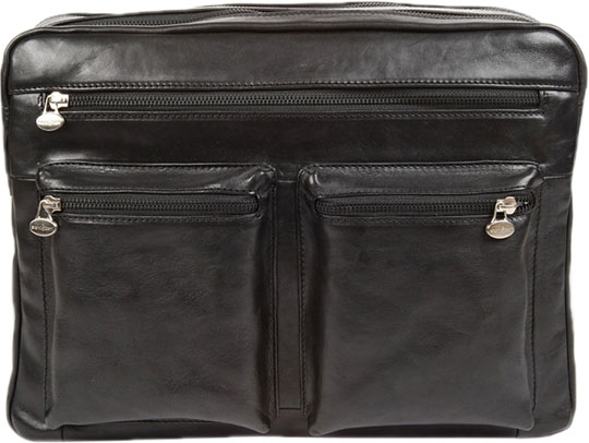 Кожаные сумки Gianni Conti 912307-black