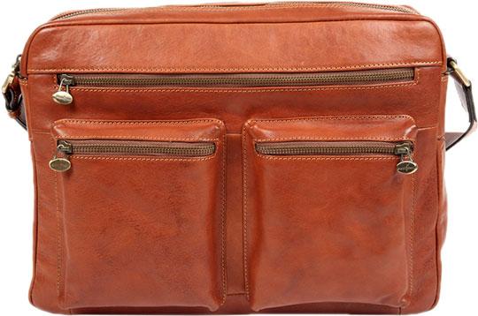 Кожаные сумки Gianni Conti 912307-tan