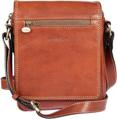Кожаные сумки Gianni Conti 912343-tan кожаные сумки gianni conti 912150 tan