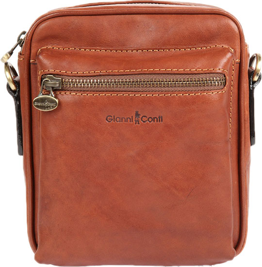 Кожаные сумки Gianni Conti 912345-tan кожаные сумки gianni conti 2514325 coral
