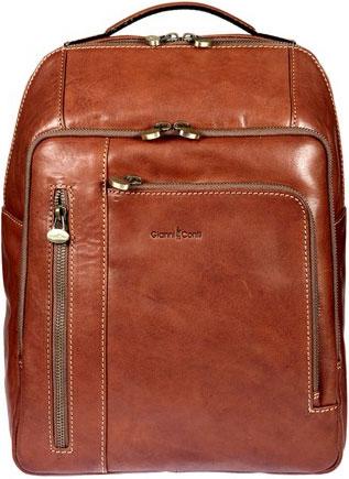 a963bb37d95c Женский кожаный рюкзак Gianni Conti 913765-tan — купить в интернет ...