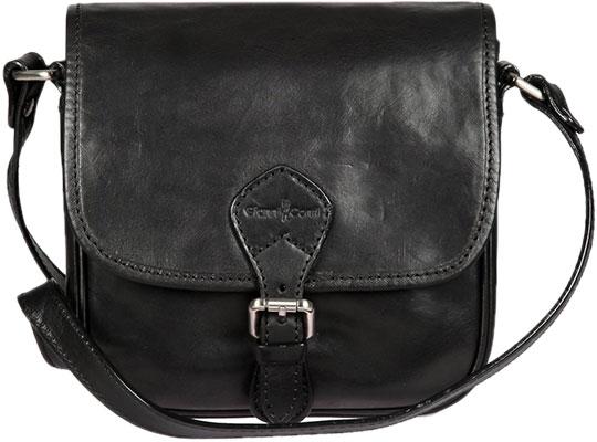 Кожаные сумки Gianni Conti 914048-black цена и фото