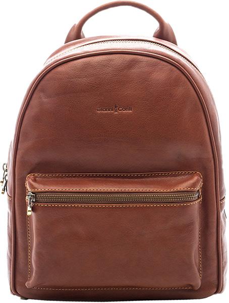 3a360b7c3bc8 Женский кожаный рюкзак Gianni Conti 914309-tan — купить в интернет ...