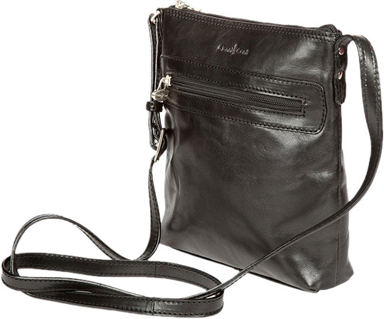 Кожаные сумки Gianni Conti 914371-black обложка для автодокументов gianni conti цвет черный