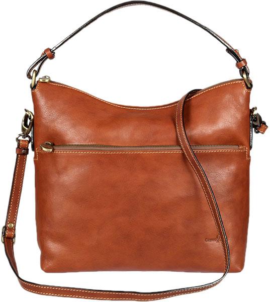 Кожаные сумки Gianni Conti 916736-tan