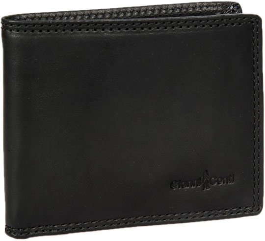 Кошельки бумажники и портмоне Gianni Conti 917020-black обложка для автодокументов gianni conti цвет черный