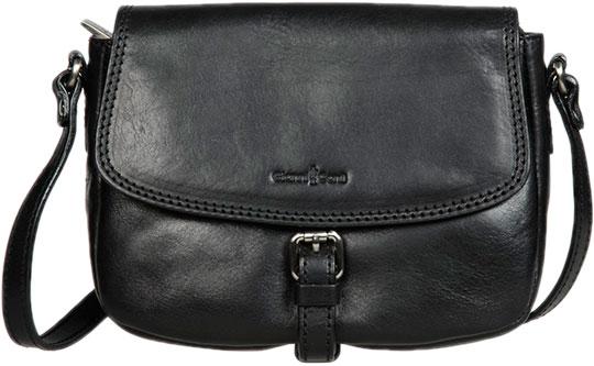 Кожаные сумки Gianni Conti 9404323-black кожаные сумки gianni conti 1601462 black