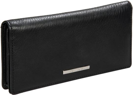 Фото «Женский кожаный кошелек Gianni Conti 9508268-black»