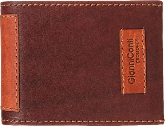 цена на Кошельки бумажники и портмоне Gianni Conti 997144-dark-brown-leather