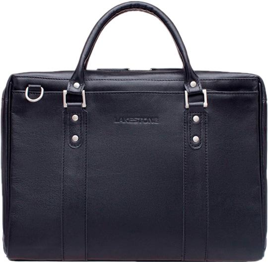 Кожаные сумки Lakestone 923082/BL барсетка lakestone gilbert 943020 943020 bl