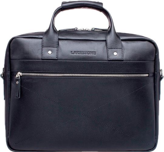 Кожаные сумки Lakestone 923201/BL барсетка lakestone gilbert 943020 943020 bl