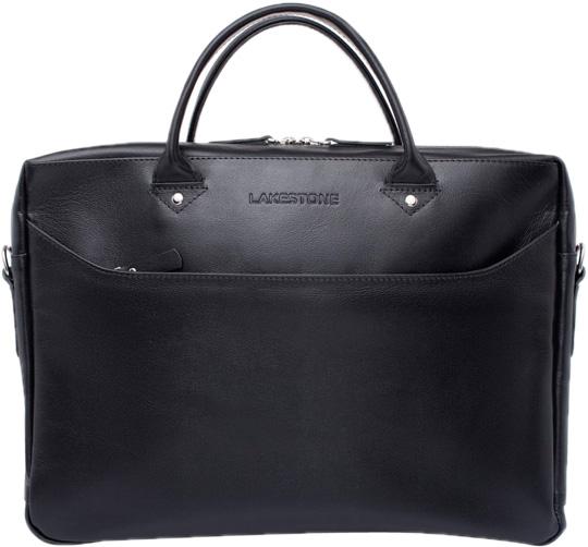 Кожаные сумки Lakestone 923203/BL барсетка lakestone gilbert 943020 943020 bl