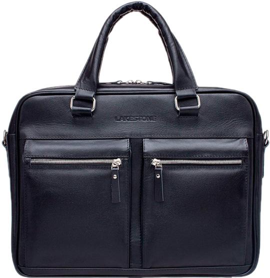 Кожаные сумки Lakestone 923204/BL lakestone gordon 943052 943052 bl