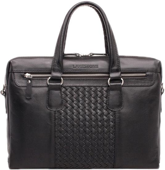 Кожаные сумки Lakestone 923313/BL барсетка lakestone gilbert 943020 943020 bl