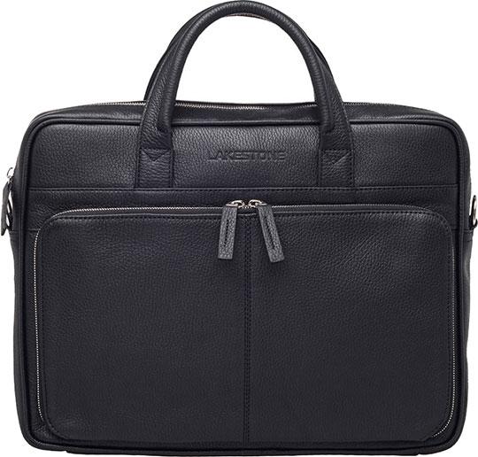 Кожаные сумки Lakestone 92787/BL барсетка lakestone gilbert 943020 943020 bl