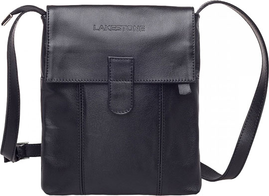 Кожаные сумки Lakestone 9504/BL