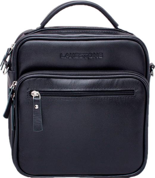 Кожаные сумки Lakestone 957024/BL барсетка lakestone gilbert 943020 943020 bl