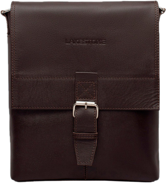 Кожаные сумки Lakestone 957059/BR мужская сумка lakestone halston 923124 923124 db