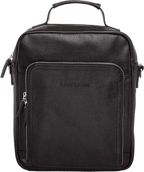 Кожаные сумки Lakestone 958528/BL барсетка lakestone gilbert 943020 943020 bl