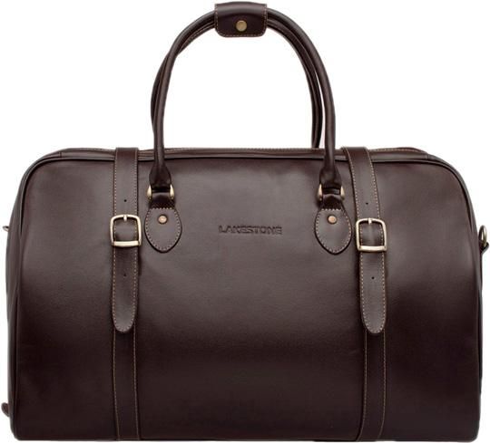 Кожаные сумки Lakestone 974081/BR сумка lakestone denston 957087 957087 br