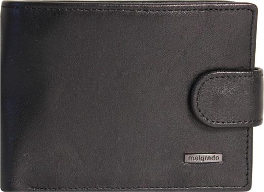 Кошельки бумажники и портмоне Malgrado 32001-3-55D-Black