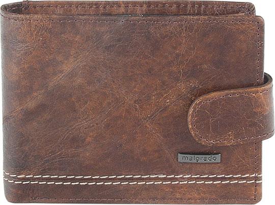 Кошельки бумажники и портмоне Malgrado 32001-9-439A-Brown махдин п титарчук ю latina viva самоучитель латинского языка