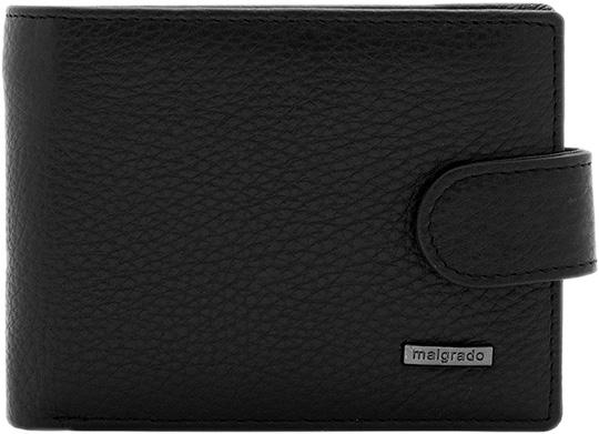 Кошельки бумажники и портмоне Malgrado 32001-9-5001D-Black кошельки бумажники и портмоне mano 20103 setru black