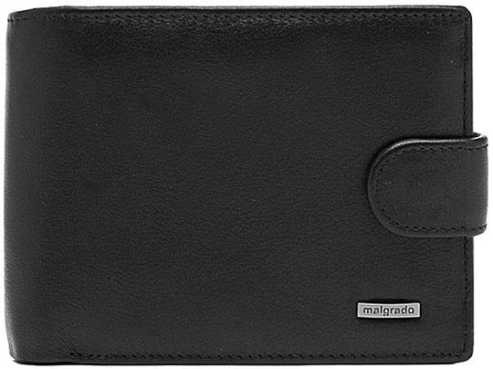Кошельки бумажники и портмоне Malgrado 35027-3-55D-Black