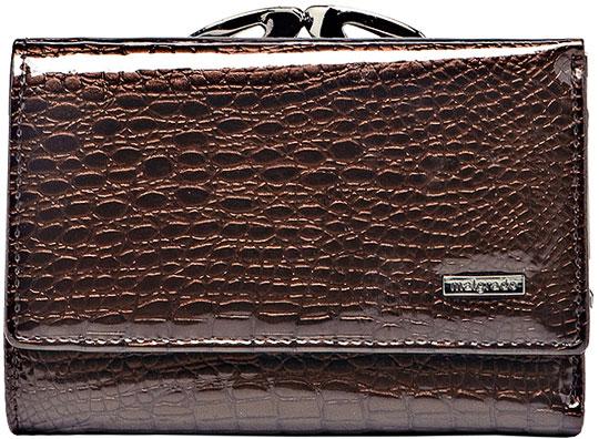 Кошельки бумажники и портмоне Malgrado 46001-01411-Coffee