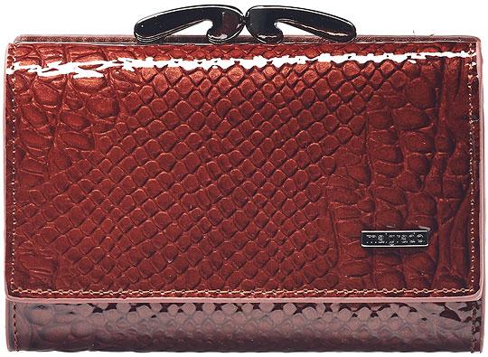 Кошельки бумажники и портмоне Malgrado 46001-04403-Brown кошельки бумажники и портмоне malgrado 72031 3 46 black
