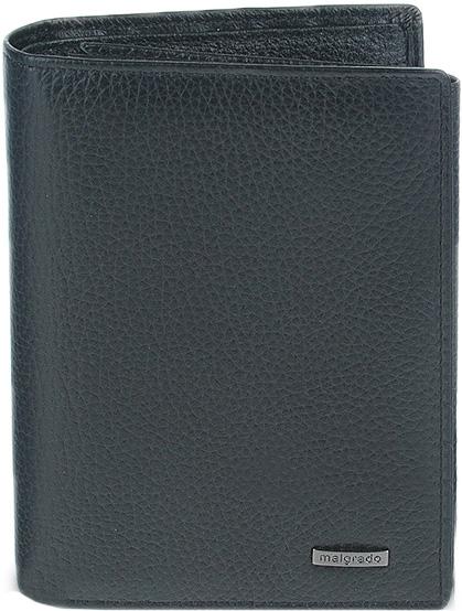 Кошельки бумажники и портмоне Malgrado 50005-3-5001D-Black malgrado business 32420 32420 5001d black