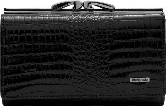 Кошельки бумажники и портмоне Malgrado 55020-5-46-Black