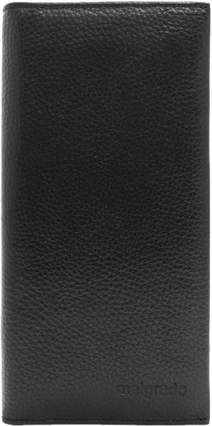 Кошельки бумажники и портмоне Malgrado 70003-5001D-Black кошельки бумажники и портмоне mano 20103 setru black