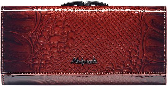 Кошельки бумажники и портмоне Malgrado 72031-04403-Brown malgrado 72031 3 8201d black malgrado