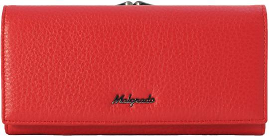 Кошельки бумажники и портмоне Malgrado 72031-105-Red malgrado 72031 3 8201d black malgrado