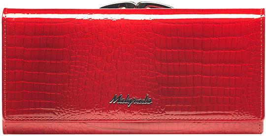 Кошельки бумажники и портмоне Malgrado 72031-3-44-Red