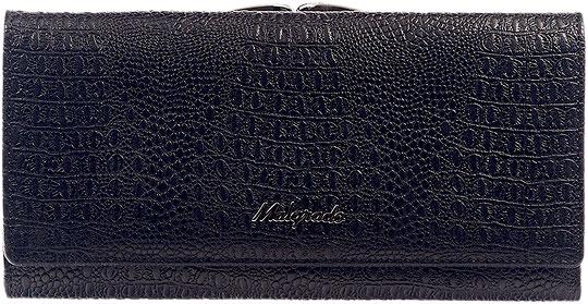 Кошельки бумажники и портмоне Malgrado 72031-3-46-Black