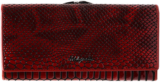 Кошельки бумажники и портмоне Malgrado 72031-3A-40302-Red кошельки бумажники и портмоне malgrado 72031 3 44 red