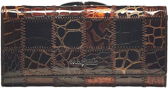 Кошельки бумажники и портмоне Malgrado 72031-3A-490A-Coffee кошельки бумажники и портмоне malgrado 72031 3 46 black